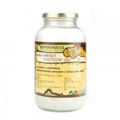 Konokoko.cz Filipínský RAW panenský kokosový olej 1000 ml